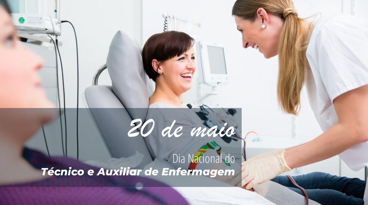 Dia Nacional do Técnico e Auxiliar de Enfermagem | CNPL